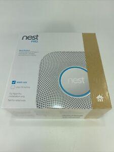 Nest PRO Nest Protect Smoke & Carbon Monoxide Alarm S3005PWLUS White NEW SEALED