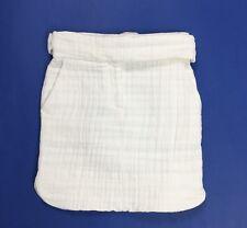 Iron gonna nuova bianca cotone tessuto estiva w26 tg 40 vita alta luxury T3936