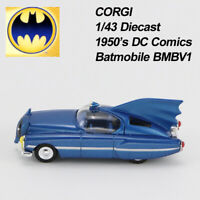 "CORGI BATMAN 1950""s DC Comics Batmobile BMBV1 1:43rd Scale Die-Cast Vehicles"