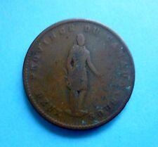 Canada Quebec Bank 2 sous(Penny) 1852