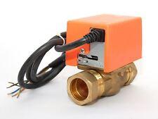 2 puertos Solar 28mm Motorizados Zona válvula Actuador sistemas solares térmicos