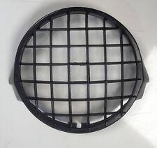 Rejilla Lámpara Frontal Cabeza Luz// piedra guardia negra para Vespa PX & LML Star