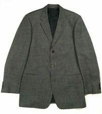 Vintage Hugo Boss Blazer Jacket / Union Made USA / Grey / Pre-Owned / 42/L