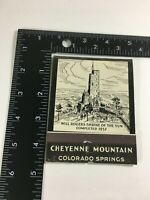 """Vintage Large Matchbooks Matches 4X4"""" Will Rogers Colorado Sprgs. Collectible B1"""
