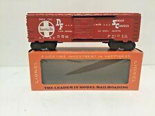 LIONEL O SCALE POSTWAR 6464-700 SANTA FE BOXCAR W/ORIG.BOX