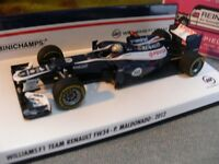 1/43 Minichamps Williams F1 Team Renault FW34 P.Maldonado 2012 #18 410120018