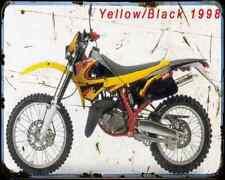 Aprilia Etx 125 98 02 A4 Metal Sign Motorbike Vintage Aged