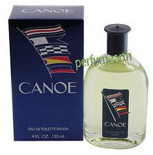 Canoe By Dana Men 4 OZ / 120 ML Eau De Toilette Splash New In Box  For Men