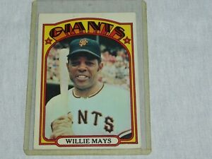 1972 Topps # 49 Willie Mays