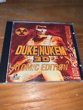 Duke Nukem 3D: Atomic Edition (PC, 1996) Complete Jewel Case W/ Booklet  VGC