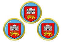 Norwich (Angleterre) Marqueurs de Balles de Golf