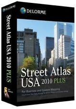 *NEW* Delorme Street Atlas USA 2010 Plus for PC/Windows *FULL RETAIL*