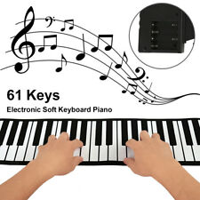 61 Keys Portable Flexible Foldable Roll Up Electronic Soft Keyboard Piano