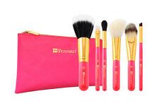 Neon Pink - 6-teiliges Pinselset mit Kosmetiktasche von BH Cosmetics