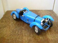 Jouet Burago: voiture collection Bugatti type 59 (1954), échelle 1/18è