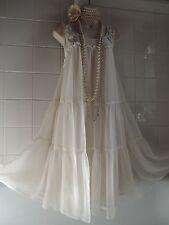 H&M Vintage 1920's Tier Deco Bead Charleston Flapper Gatsby Babydoll Dress 12/14