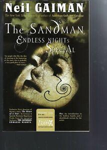 SANDMAN ENDLESS NIGHTS SPECIAL  - NEIL GAIMAN TV SERIES - DC VERTIGO