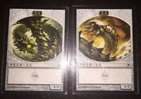 Chinese Wurmcoil Engine Wurm Tokens Lifelink Deathtouch Scars of Mirrodin MTG NM