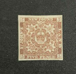 Newfoundland Stamp #19a Mint No Gum