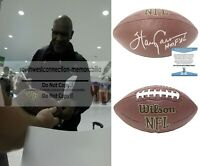Harry Carson New York Giants Signed Autographed NFL Football Beckett BAS Cert