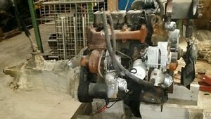 CUMMINS 4BT 3.9 TURBO DIESEL ENGINE w/ ford overdrive 2wd Free Shipping -