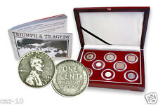 The Second World War Pacific Theater Eight Coin Presentation Box Set