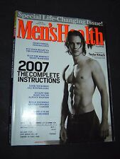 Men's Health January/February 2007 TAYLOR KITSCH life changing issue