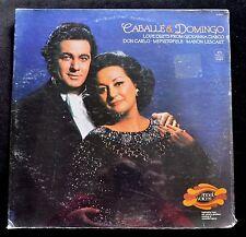 MONTSERRAT CABALLE & PLACIDO DOMINGO - LOVE DUETS - ANGEL S-36934 SEALED LP