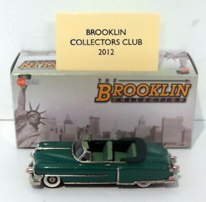 Brooklin Models 1/43 Scale BRK168X -1953 Cadillac Series 62 Convertible 1 Of 175