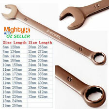 6-32mm Cr-V Long Series Combination Spanner / Ring Open End Wrench