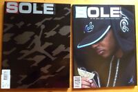 Sole Collector Magazine #17#10 Jordan Retro Nike Carmelo Anthony Lebron Lot Of 2