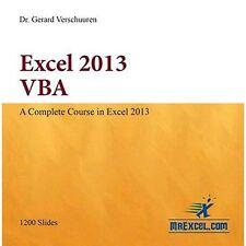 Excel 2013 VBA by Gerard M. Verschuuren (Paperback, 2014)