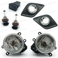1Set Fog lights Driving Lamps Cover Switch for 2016-2017 Toyota Hilux / VIGO