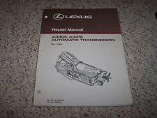 1994 Lexus SC400 300 GS300 LS400 A340E A341E Transmission Service Repair Manual
