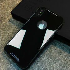 9H Tempered Glass Bumper Scratch-Resistant Cover Case For iPhone X 8 7 6 6s Plus
