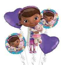 Doc McStuffins Happy Birthday Foil Balloons Bouquet Party Decorations Supplies 5