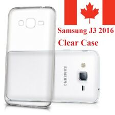 For Samsung Galaxy J3 2016 Case - Clear Thin Soft TPU Transparent Back Cover