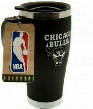 CHICAGO BULLS * Official NBA BASKETBALL Thermal Insulated TRAVEL MUG Coffee *74