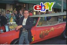"Monkees DAVY JONES looks at Monkeemobile - 1995 - 24""'x 36"" JUMBO original photo"
