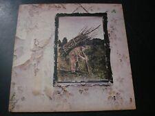 LED ZEPPELIN IV LP RECORD UK VG++ PECKO DUCK 1ST PRESS