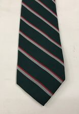 Intelligence Corps Polyester Striped Tie, Army, Military, Present, Int Corps