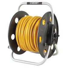 Lightweight Metal Reel with 100m of Microbore 6mm hose & Aquastop