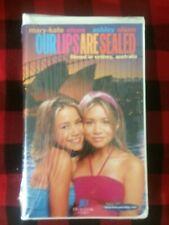 Mary-Kate Olsen & Ashley Olsen OUR LIPS ARE SEALED - NEW VHS Tape