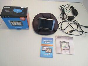 Garmin Nuvi 205 Portable GPS Navigator with Car Charger + Bean Bag Mount bundle