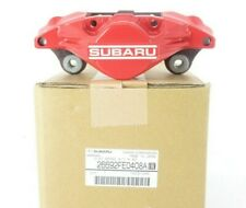 Genuine OEM Subaru 26692FE0408A Passenger Rear Brake Caliper Red 2006-07 Impreza