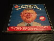 """RARE! CD """"LES INTERDITS DES GROSSES TETES"""""""