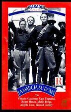 La Marcia su Roma (1962)  VHS Ricordi   Parade   Dino Risi Gassman Tognazzi