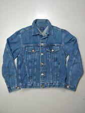 Tommy Jeans Vintage Jean Jacket Size Small Hilfiger Button Up Denim Coat