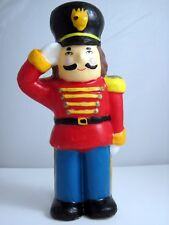 """Candle Vintage Christmas Toy Soldier 11"""" Unlit"""
