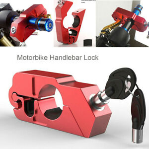 Motorbike Handlebar Throttle Grip Lock Motorcycle Security Brake Bike Scooter AU